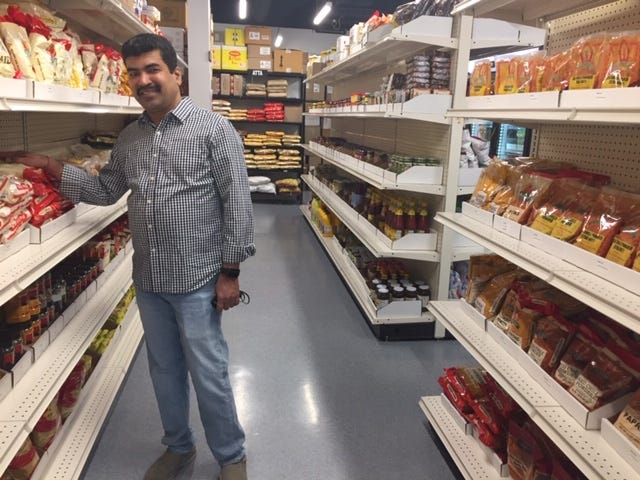 Saiprasad Palusa, owner of Bawarchi Biryani Point Indian restaurant, has opened an Indian grocery store adjacent to the restaurant near College and Prospect in Fort Collins.