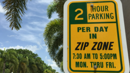 A consultant hired by the city of Fort Myers is suggesting that the two hours of free parking in yellow-coded Zip Zones downtown become paid parking, at a premium on-street rate.