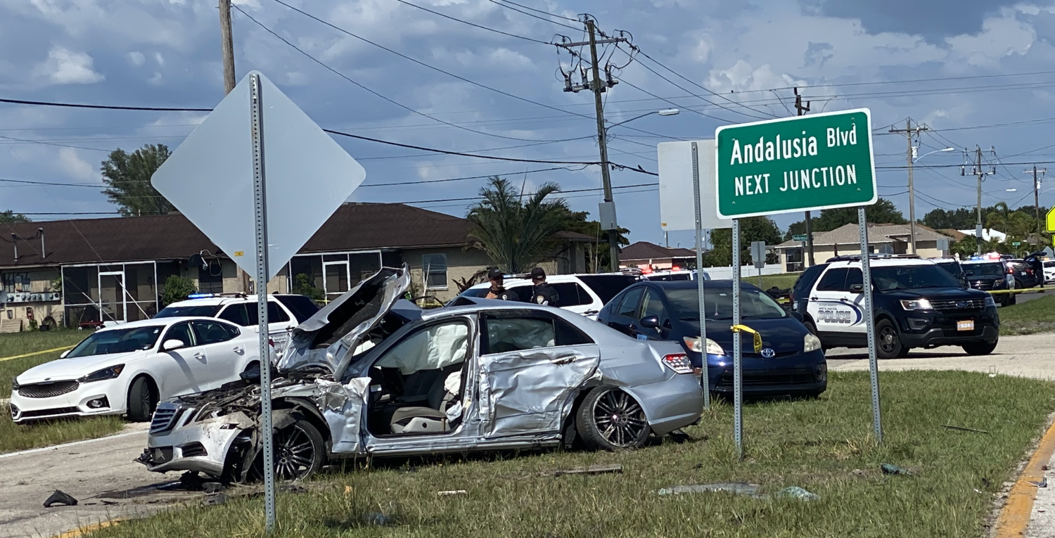 Speeding vehicle left Cape Coral road, hit pole, rolled and killed ejected driver, police say 3