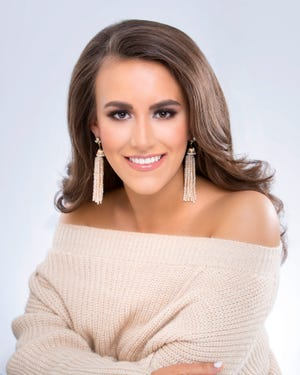 A competitor in this year's Miss Tennessee competition, Lydia Fisher of Memphis is Miss Bluff City Fair.