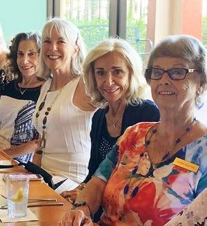 Jean King, Linda Ann Ventura, Patricia Bednarz and Doris Boston smiling for the camera.