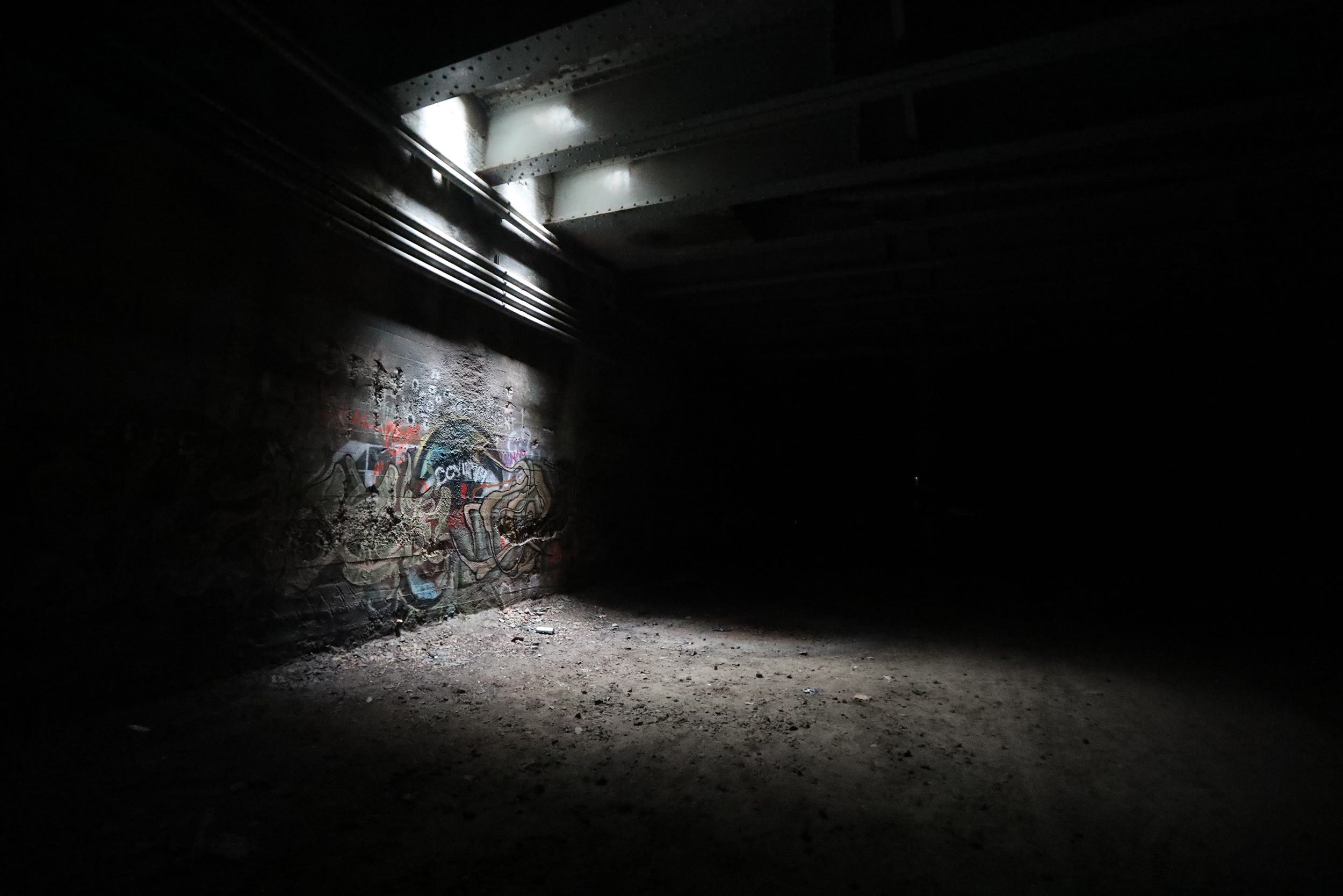The subway was originally 9 miles long.  Today, graffiti artists use the former subway tunnel in downtown Rochester as their canvas.