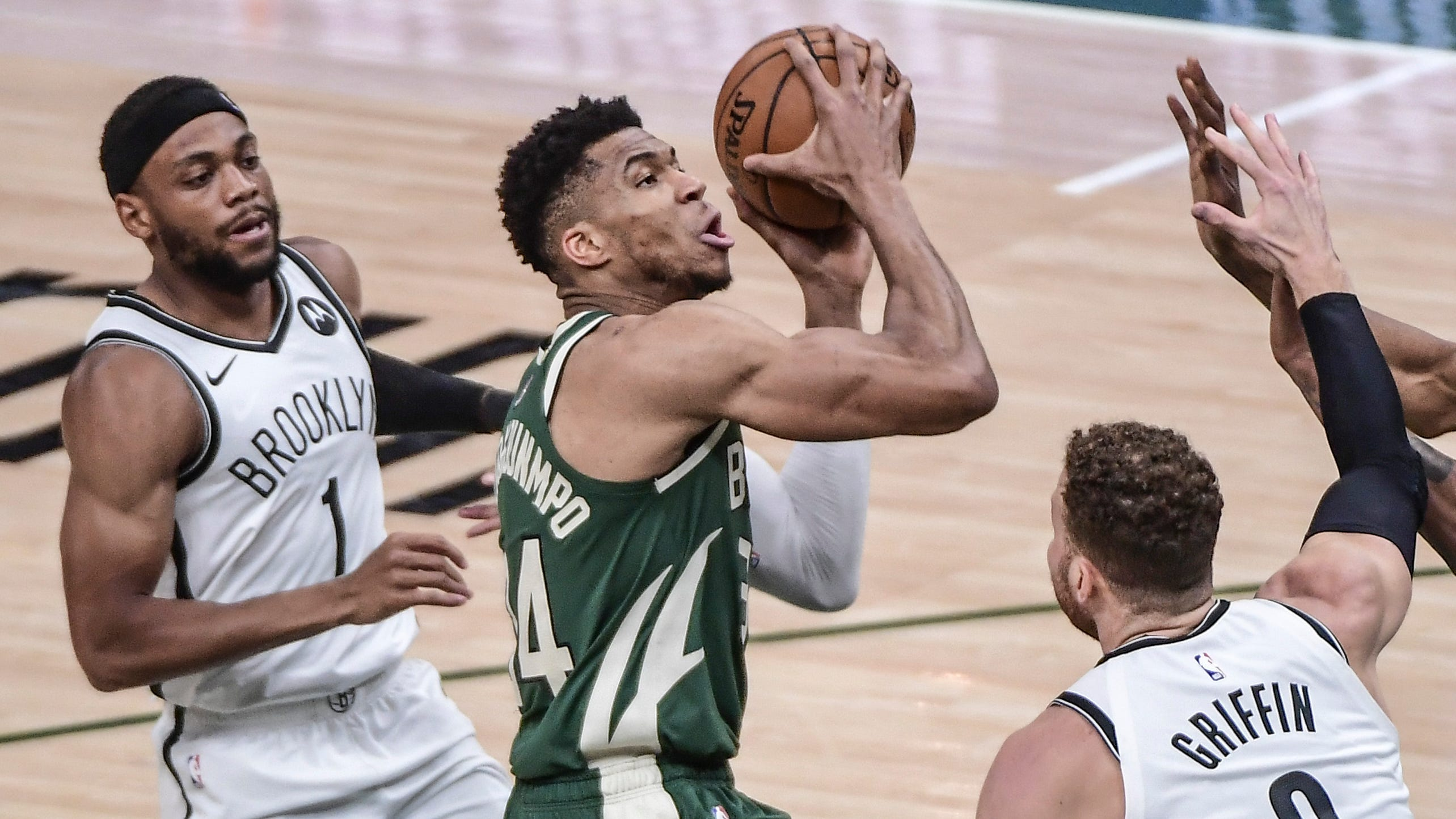 Bucks edge Nets in Game 3 to cut series deficit to 2-1