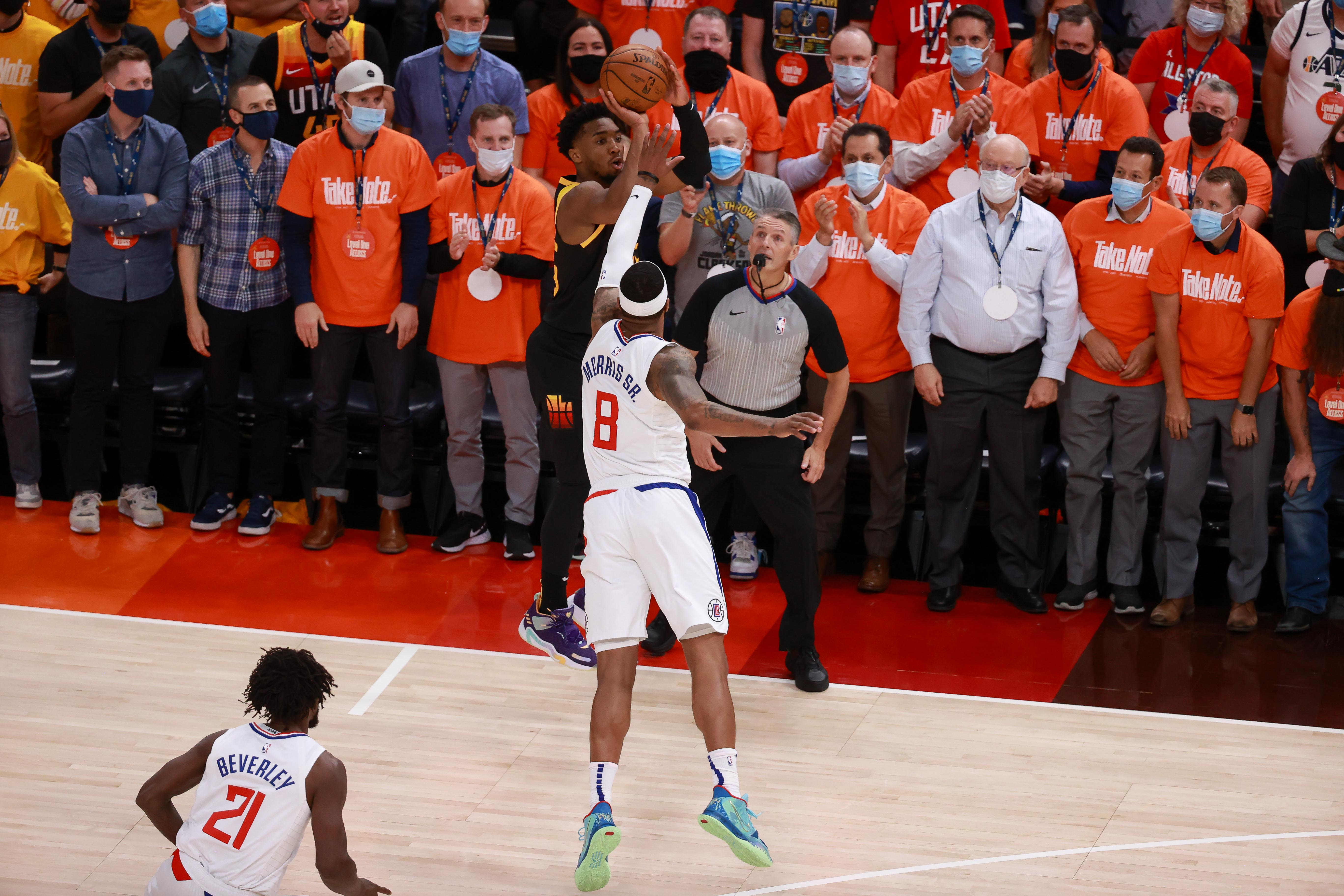 Jazz put Clippers on ropes again with 2-0 series lead thanks to another huge Donovan Mitchell game