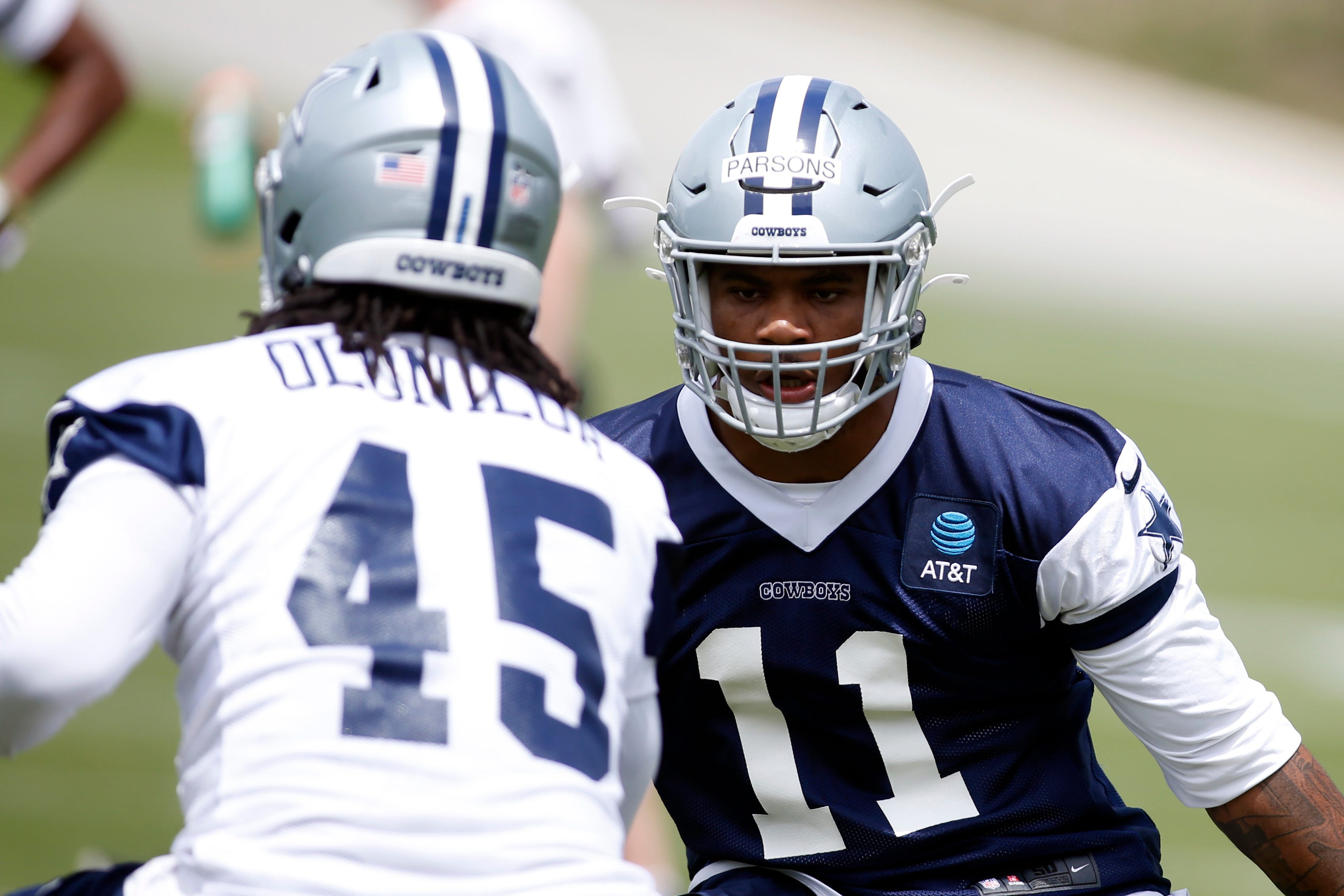 Cowboys minicamp notebook: Micah Parsons embraces lessons from veterans ... and beats one at chess