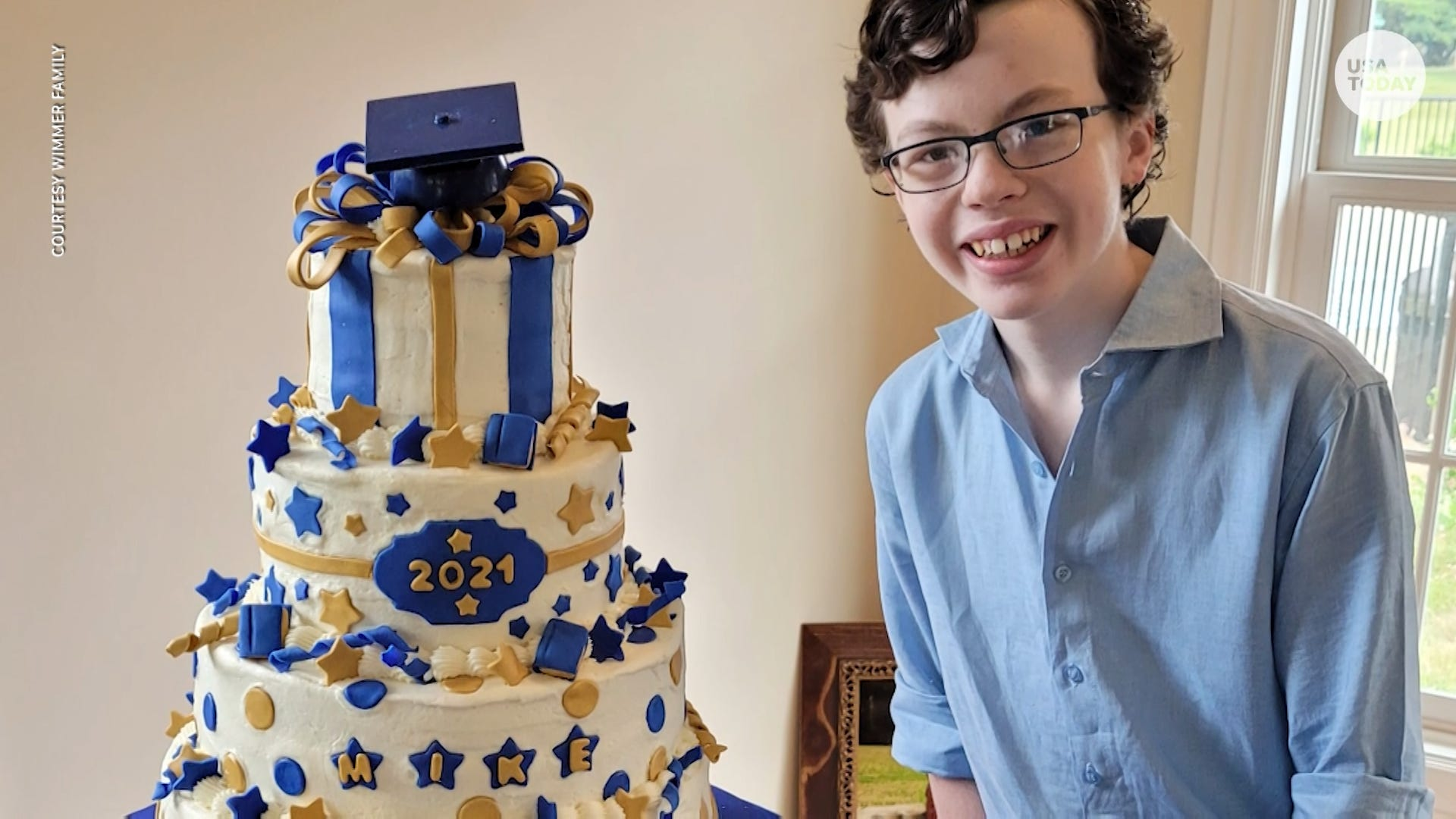 12-year-old graduates from both high school and college in the same year