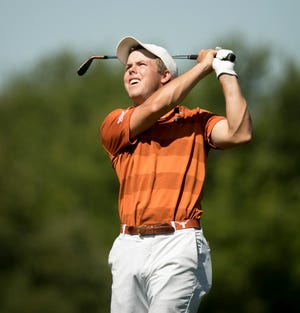 Pierceson Coody is a three-time All-American for the UT men's golf team.