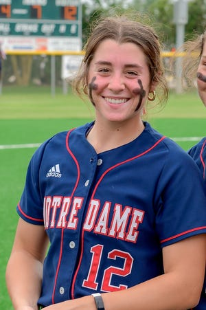 Maci Bergeron was named Miss Softball.