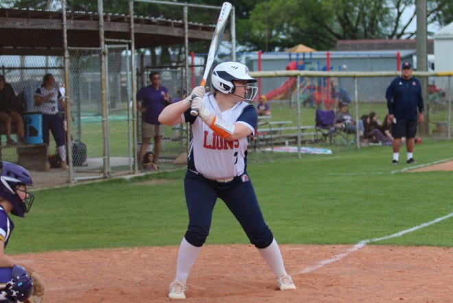 Ascension Christian senior catcher Hallie Dupre was a first-team LSCA All-State selection.