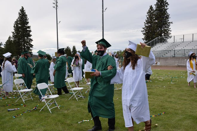 Weed High School celebrated their graduates in style in an outdoor ceremony on June 10, 2021.