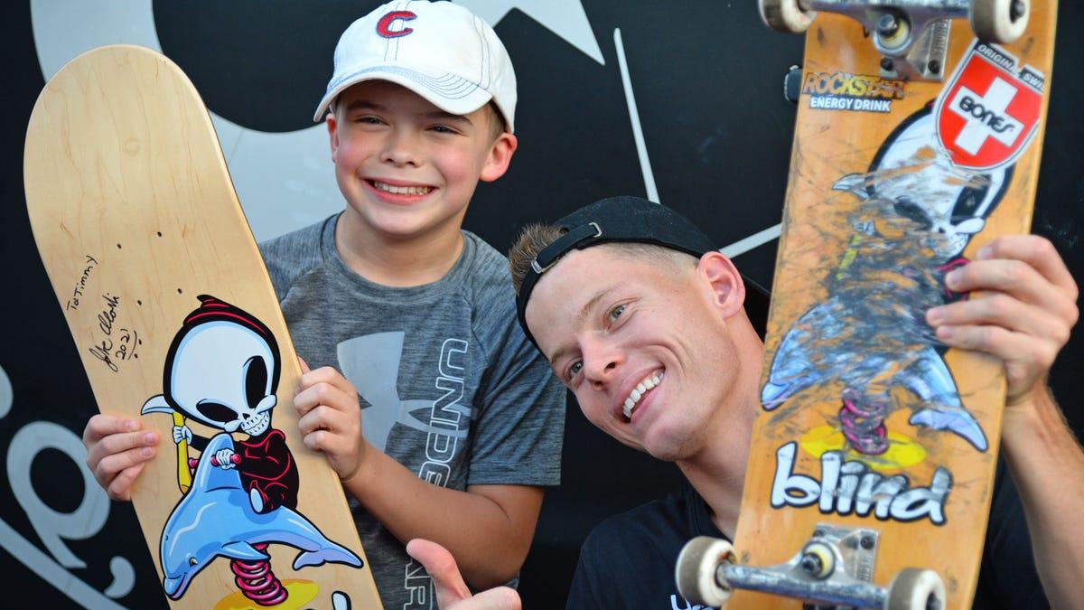 Skateboarding community celebrates Olympian Jake Ilardi
