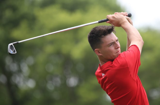 Addison Alonzo rallied from down two at the turn to knock off former TGA City Match Play champion Mac McFarland during Friday's second round at Cypress Ridge Golf Course.