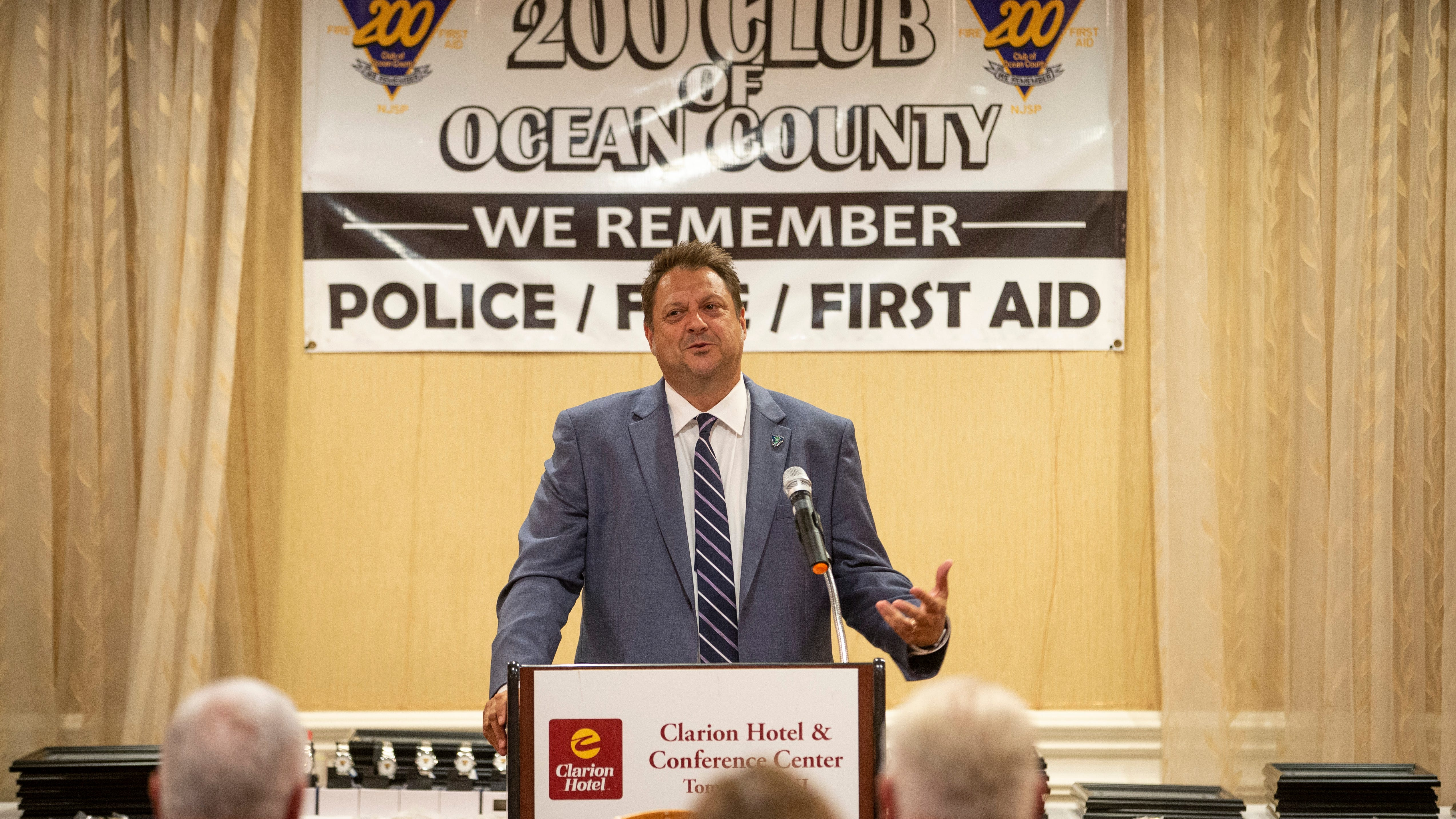 Ocean County NJ police, firefighters, EMTs and lifeguards honored