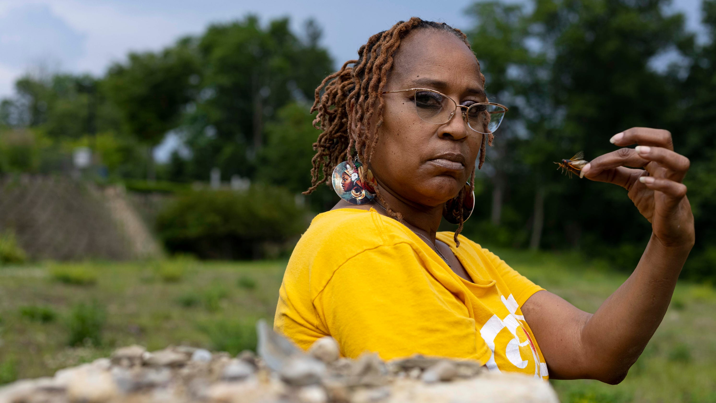 'You want the truth?' Ohio woman robbed at cicada-point tells her story