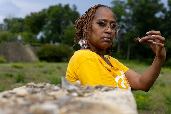Kellogg was the subject of a viral story in the 1980s that said she was robbed at cicada-point, but she spoke to The Enquirer recently to set the record straight.