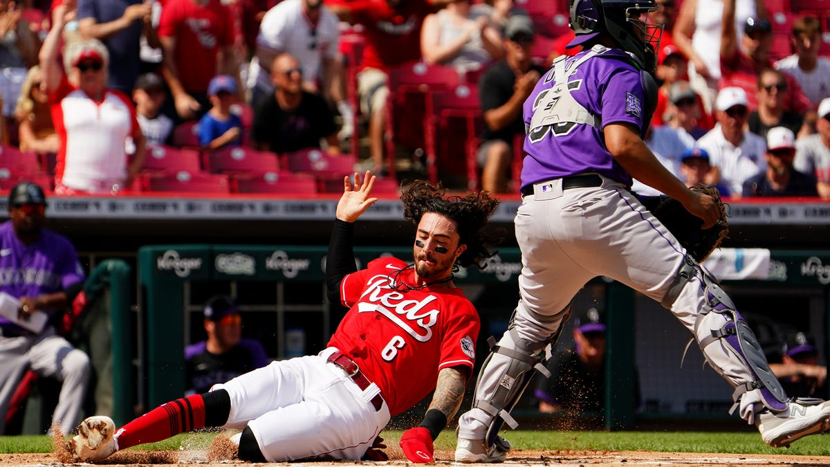 Photos: Cincinnati Reds host Colorado Rockies at Great American Ball Park, June 12