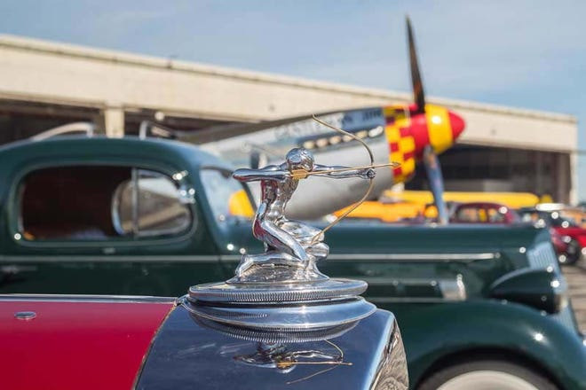 Gates open to the public at 10:00 a.m. Sunday, June 13 on the west side of Willow Run for Detroit's Invitational Wings and Wheels Show.