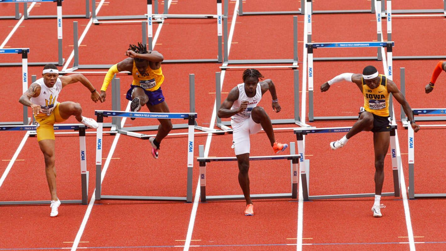 Hawkeyes' Jaylan McConico named Big Ten Men's Outdoor Track Athlete of the Year