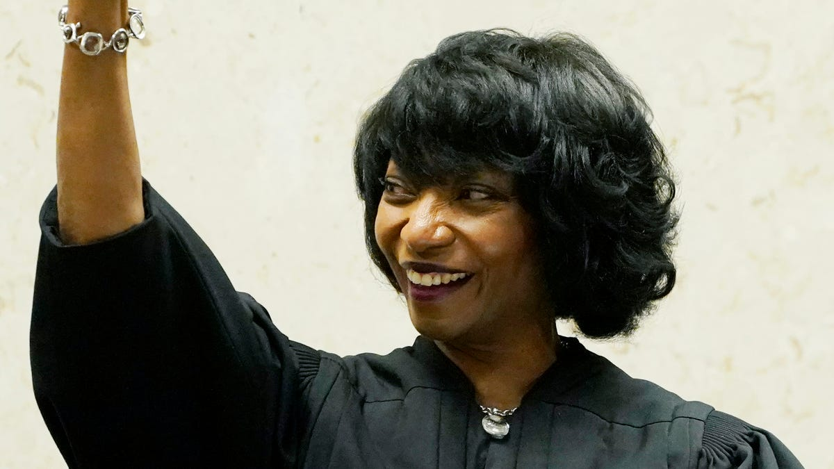 PHOTOS: Debra Brown becomes first Black female chief judge in Mississippi