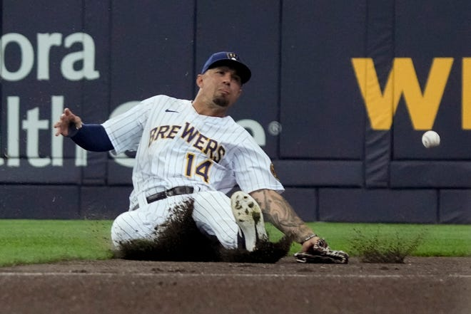 Jace Peterson and the Brewers have some upcoming off days after a busy stretch of games.