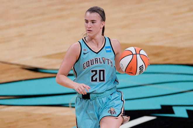 Sabrina Ionescu, 2020 WNBA No. 1 overall draft pick, will play in Phoenix as a professional for the first time Sunday against the Phoenix Mercury.