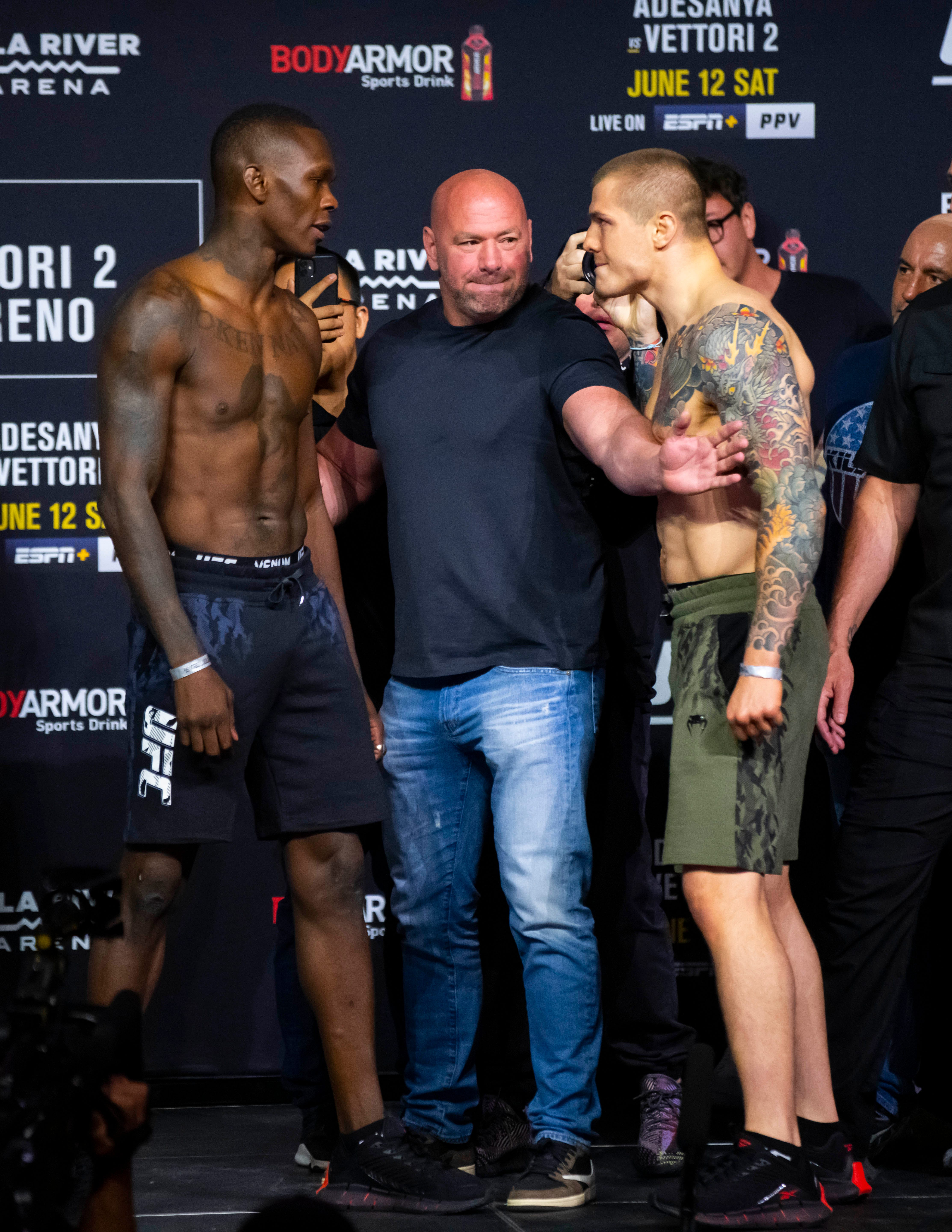 UFC 263 play-by-play and live results