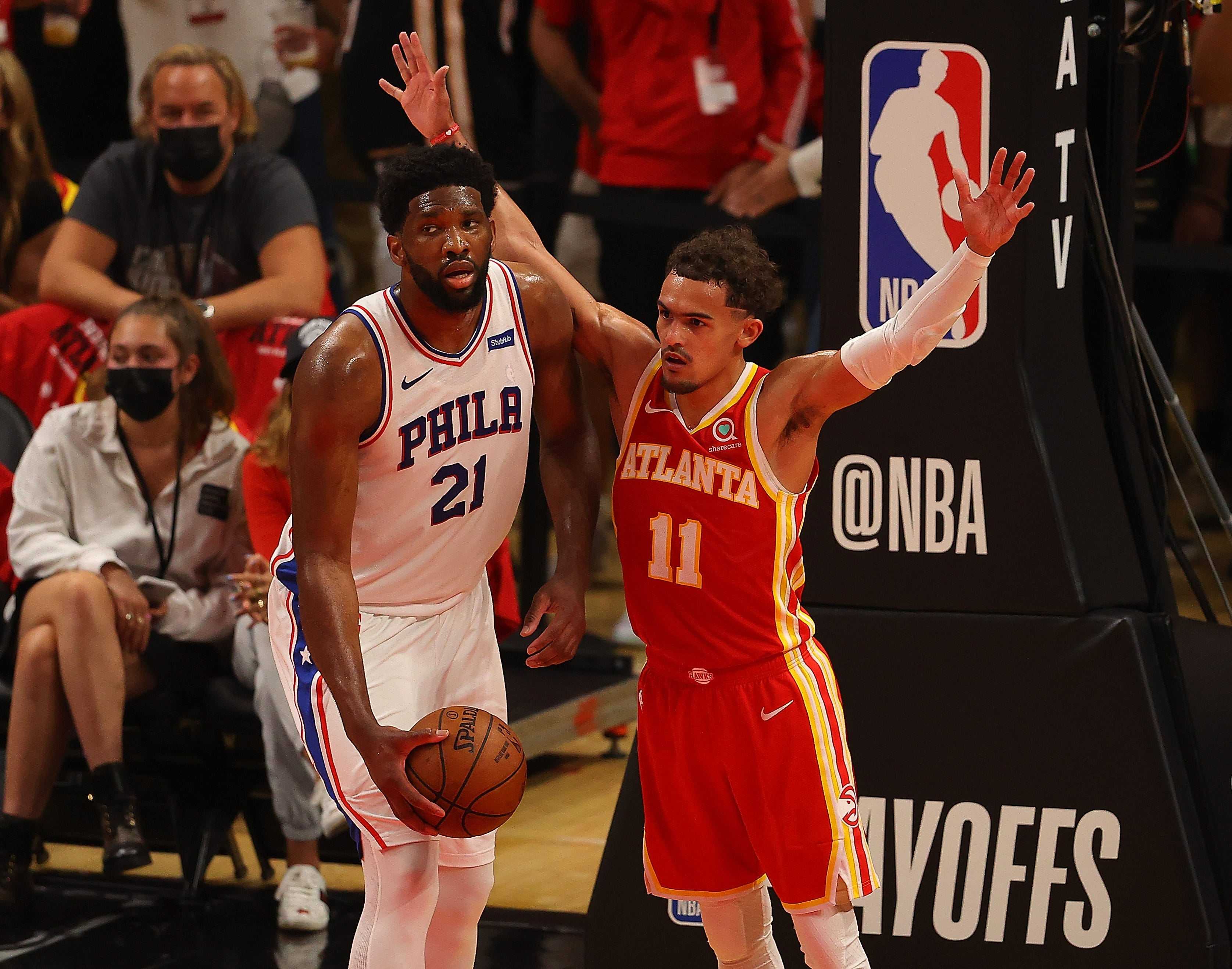 Opinion: Sixers' win in Game 3 exposes gap young Hawks still have to close