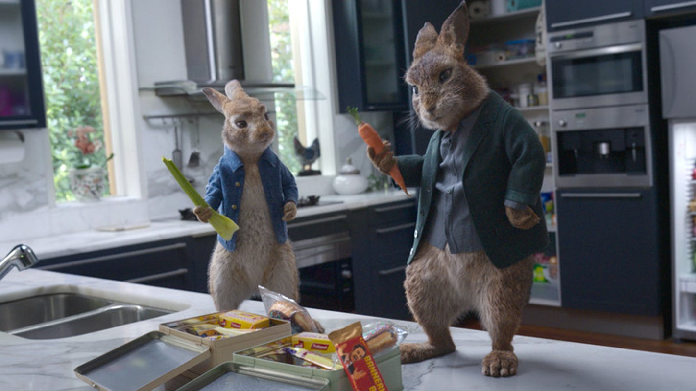 How 'Peter Rabbit 2' uses meta humor to 'apologize' to Beatrix Potter fans after the first film