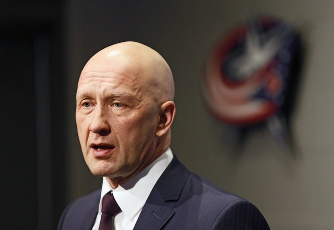 General manager Jarmo Kekalainen and the Blue Jackets have nine picks in the draft, including one atfifth overall.