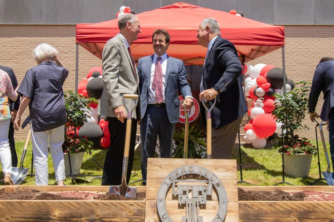 A groundbreaking ceremony was held Friday at the Museum of Texas Tech.