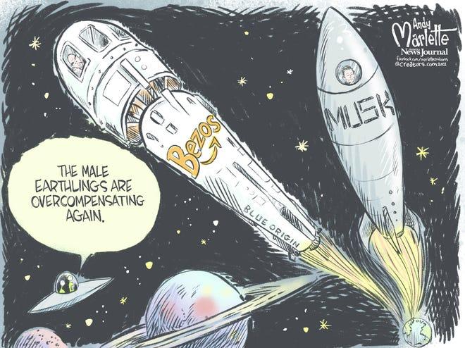 Today's editorial cartoon (June 14, 2021)