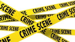 Crime scene tape handout
