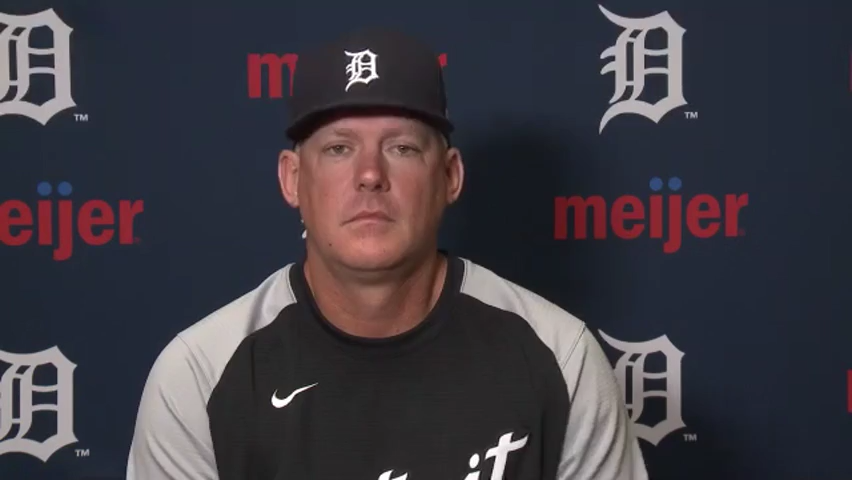 Detroit Tigers' AJ Hinch is 'highly invested' in relationship with Jake Rogers