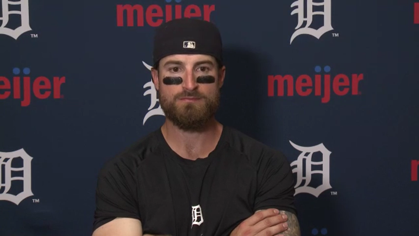 Detroit Tigers' Eric Haase breaks down what made Chicago's Carlos Rodon dominant