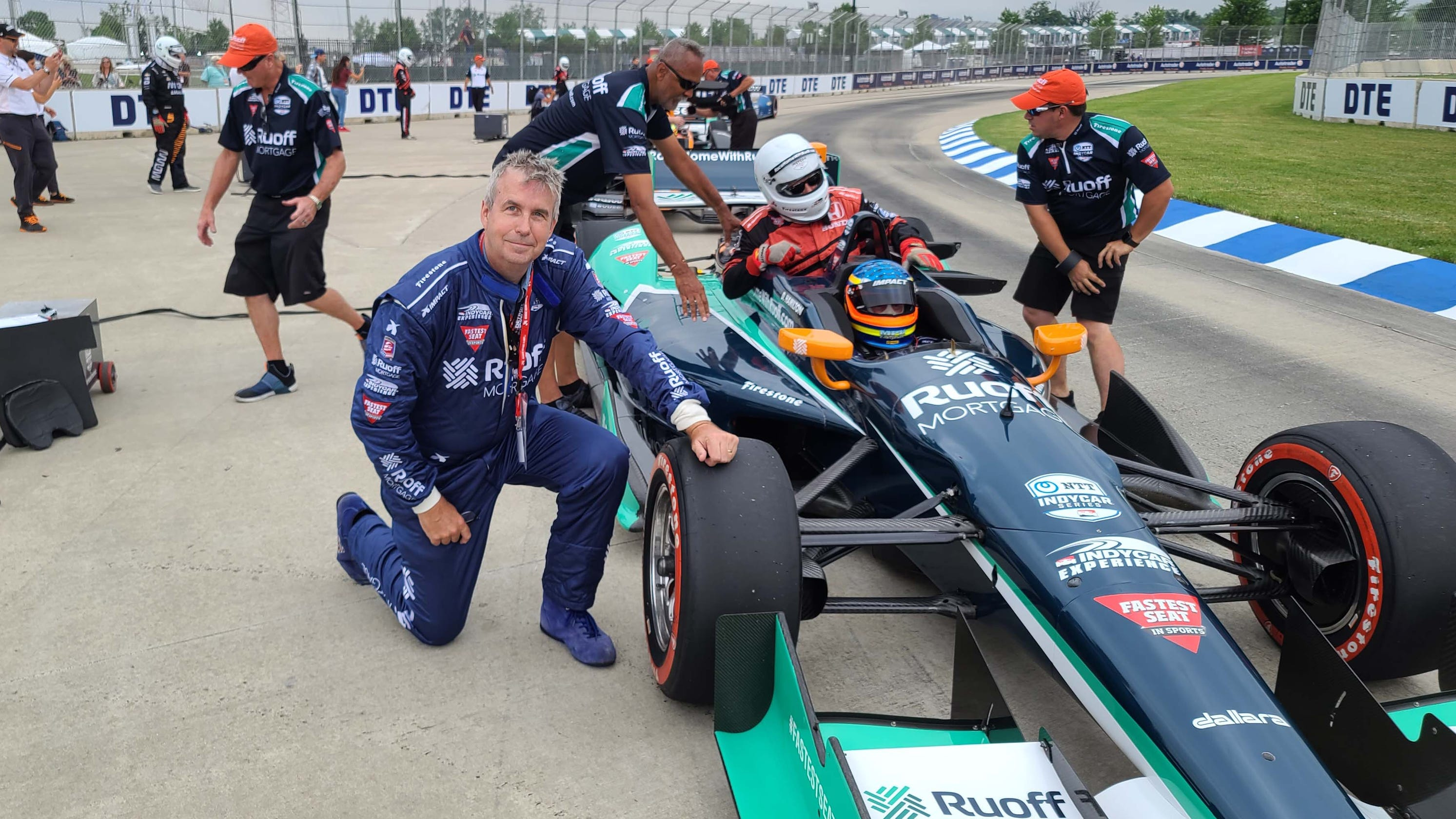 Henry Payne: My violent, roller-coaster lap of Belle Isle in an IndyCar