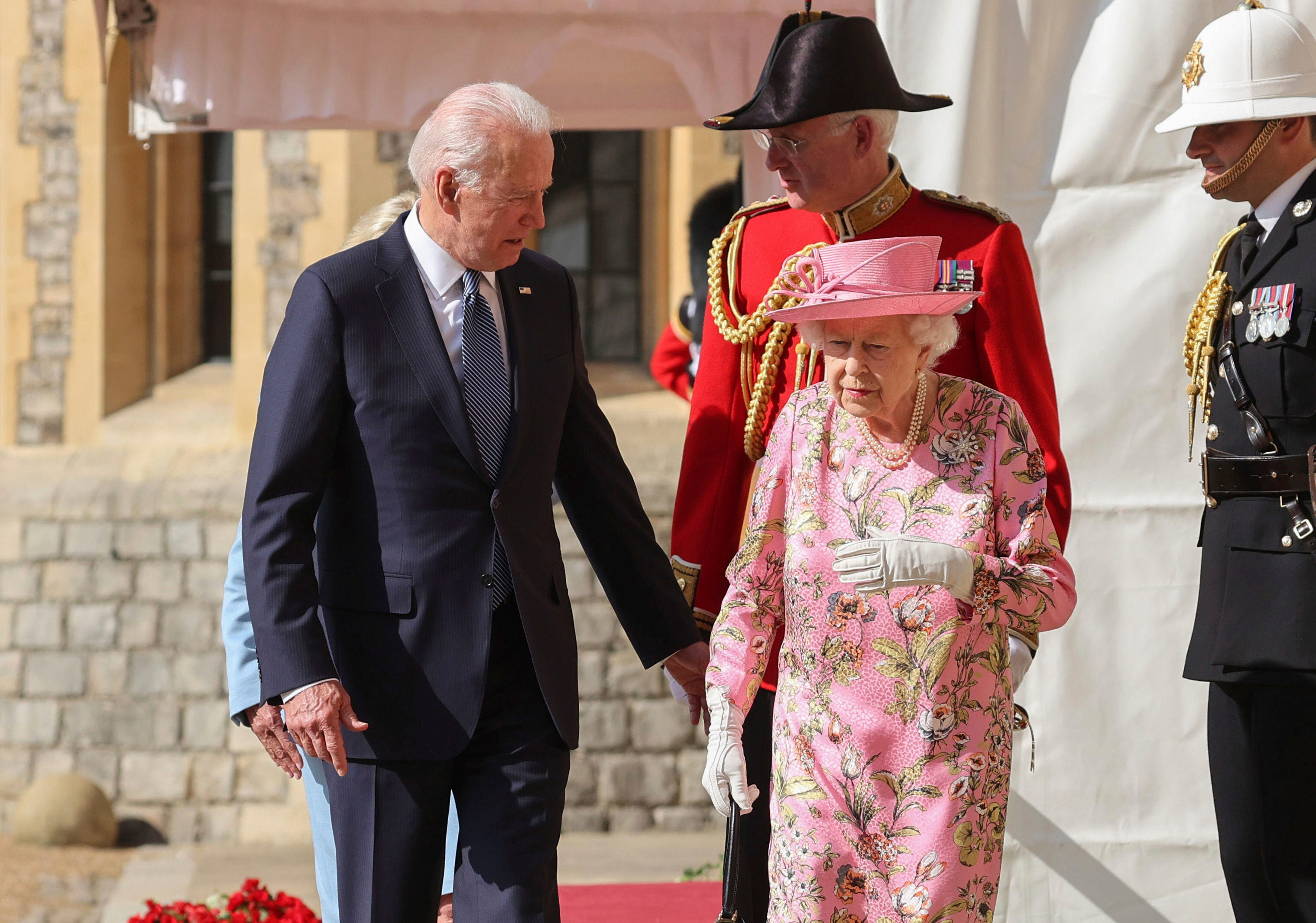 Biden says 'very gracious' queen 'reminded me of my mother' 2