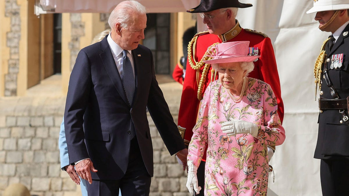 Biden says 'very gracious' queen 'reminded me of my mother' 3