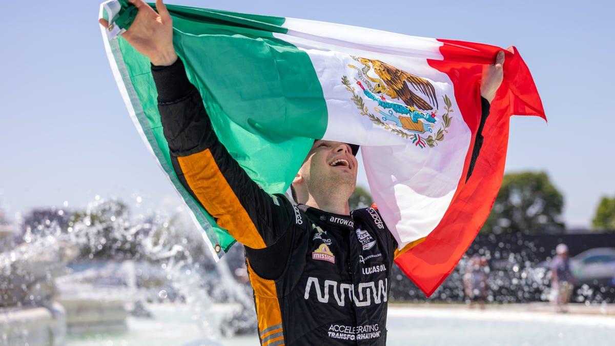 'I'm here to win': Pato O'Ward's furious finish clinches Detroit Grand Prix Race No. 2 1