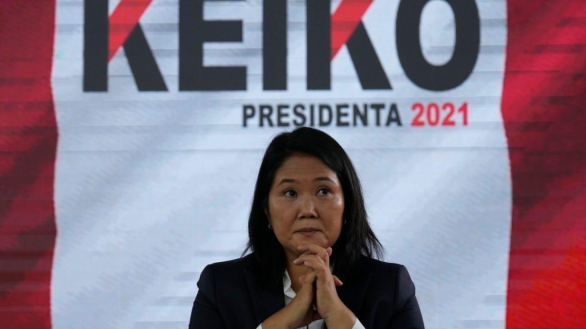 Peru's Fujimori repeats election fraud claim, trusts no jail 3