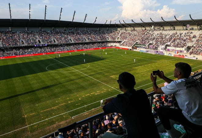 LouCity ranks No. 1 in the USL in points and also in attendance, averaging 9,805 over 10 home games.