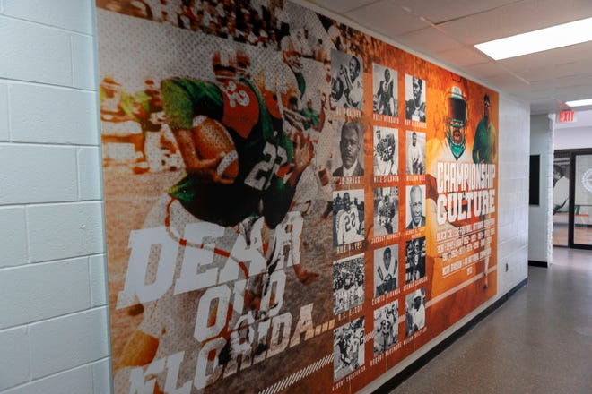 FAMU's locker room and field house have undergone renovations.