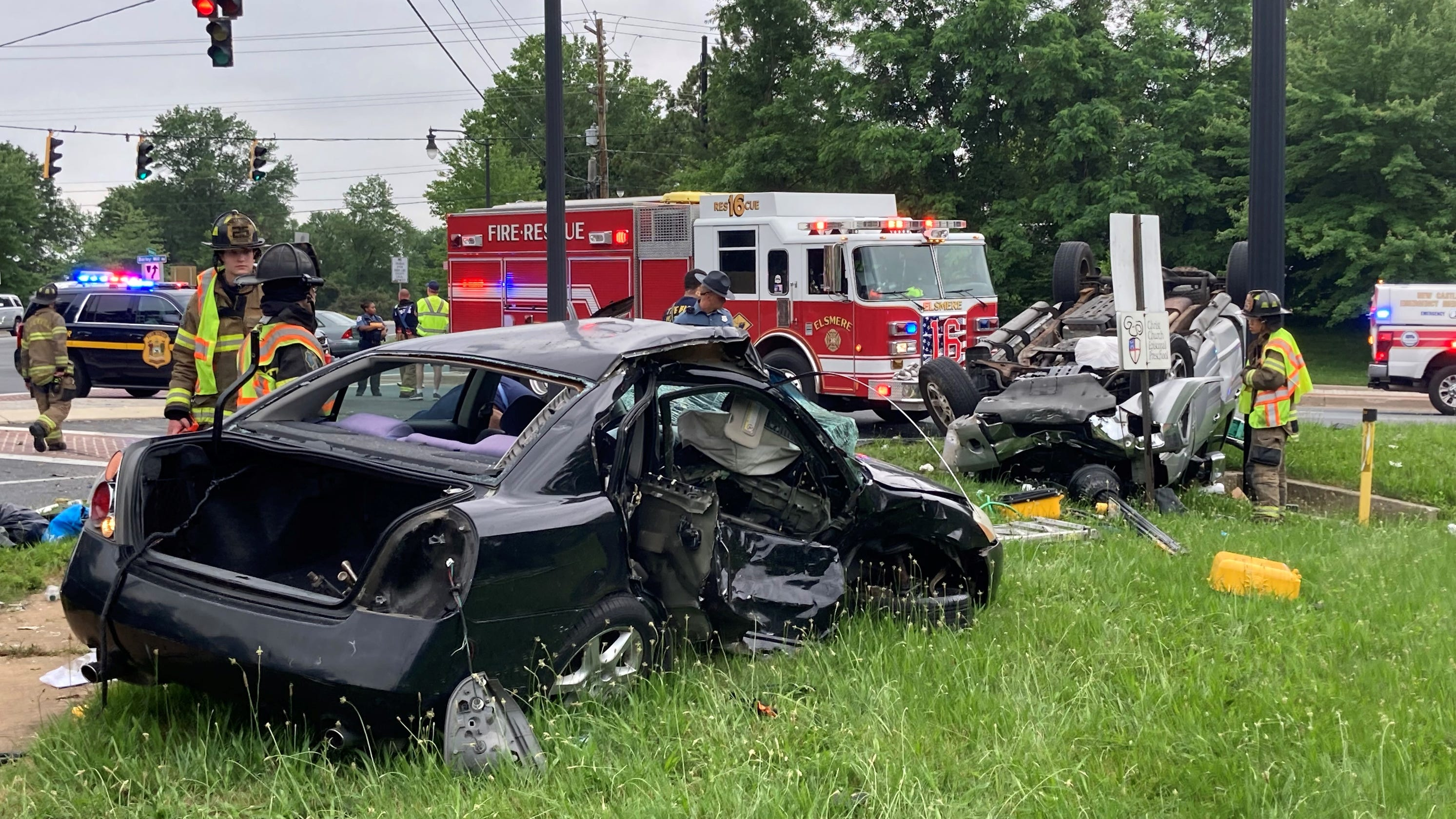 37-year-old Middletown woman killed in intersection crash near Greenville early Sunday