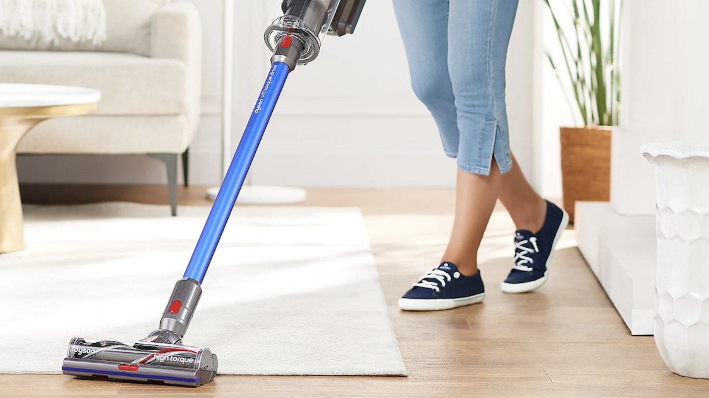 The Dyson V11 Torque Drive is our favorite cordless vacuum—and at one of its lowest prices