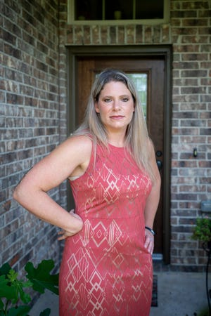 Jennifer Bridges, a nurse at Houston Methodist Hospital, is among 178 workers suspended for refusing to get vaccinated.