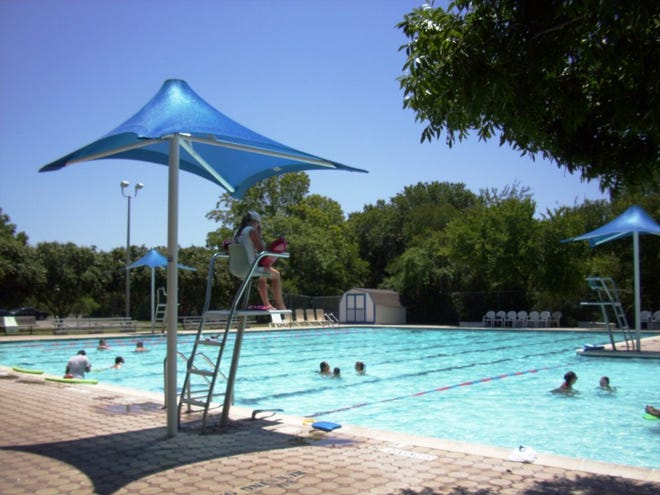 The Pflugerville City Council last week voted to replace structures at the pool at Gilleland Creek Park. Improvements will include raising the bathhouse's elevation to prevent flooding.