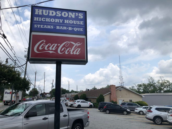 Hudson's Hickory House in Douglasville has traditional barbecue favorites and some of the best blue cheese dressing in the state.