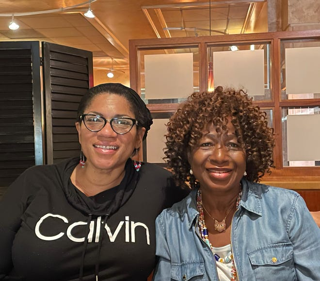 Tracey Little, left, and her sister-in-law Tina Gaisie will try out their T's Eats dining concept this weekend at Akron's NoHi Pop-up.