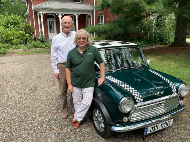 """Karen and Jim Perone's historical video series, """"Marking Time in Alliance,"""" recently received an Award of Excellence from a national history organization."""