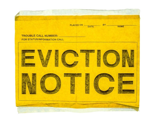 The federal rent moratorium is set to expire on June 30.