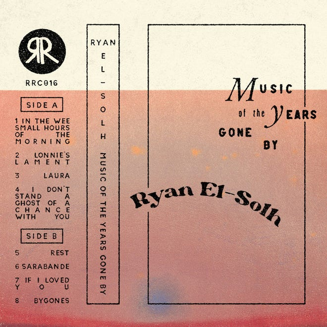 """Cover art for Ryan El-Solh's """"Music of the Years Gone By"""""""